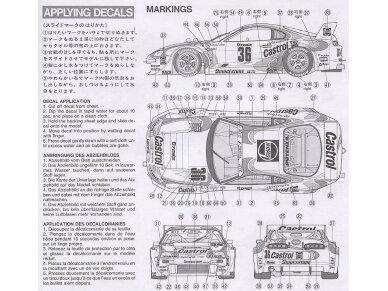 Tamiya - Castrol Toyota Tom's Supra GT, Mastelis: 1/24, 24163 7