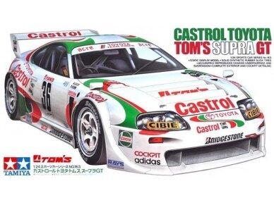 Tamiya - Castrol Toyota Tom's Supra GT, Mastelis: 1/24, 24163