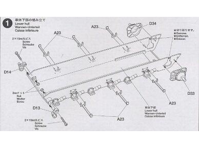 Tamiya - Challenger 2, Mastelis: 1/35, 35274 12