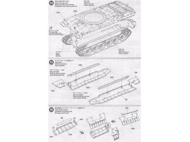 Tamiya - Challenger 2, Mastelis: 1/35, 35274 17