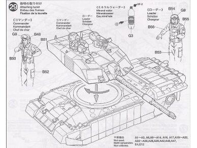 Tamiya - Challenger 2, Mastelis: 1/35, 35274 22