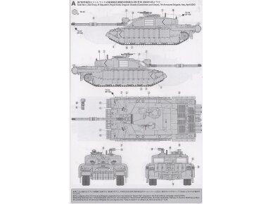 Tamiya - Challenger 2, Mastelis: 1/35, 35274 9