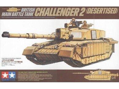 Tamiya - Challenger 2, Mastelis: 1/35, 35274