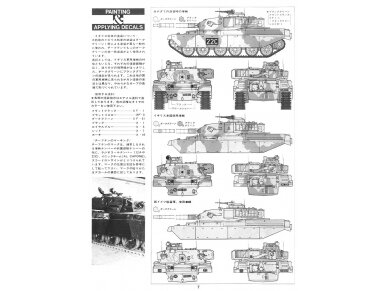 Tamiya - British Chieftain Mk.V Tank, Mastelis: 1/35, 35068 14