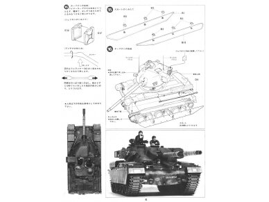 Tamiya - British Chieftain Mk.V Tank, Mastelis: 1/35, 35068 19
