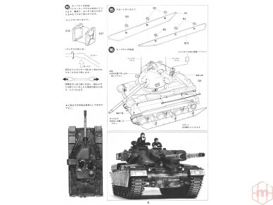 Tamiya - British Chieftain Mk.V Tank, Scale: 1/35, 35068 19