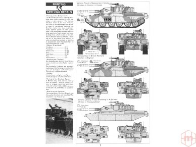 Tamiya - British Chieftain Mk.V Tank, Mastelis: 1/35, 35068 7