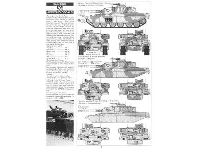 Tamiya - British Chieftain Mk.V Tank, Scale: 1/35, 35068 7