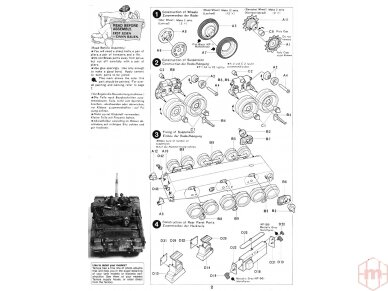 Tamiya - British Chieftain Mk.V Tank, Mastelis: 1/35, 35068 8