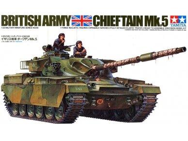 Tamiya - British Chieftain Mk.V Tank, Mastelis: 1/35, 35068