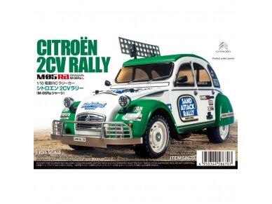 Tamiya - Citroën 2CV Rally (M-05Ra), Mastelis: 1/10, 58670