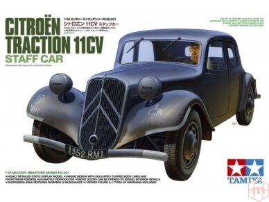 Tamiya - Citroen Traction 11CV, Mastelis: 1/35, 35301