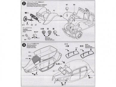 Tamiya - Citroen Traction 11CV, Mastelis: 1/48, 32517 6
