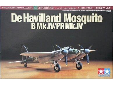 Tamiya - De Havilland Mosquito B Mk.IV/PR Mk.IV, Mastelis:1/72, 60753