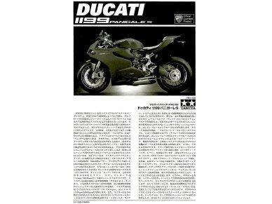 Tamiya - Ducati 1199 Panigale, Scale: 1/12, 14129 14