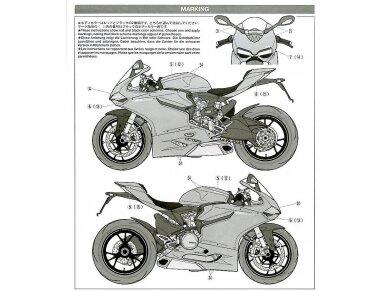 Tamiya - Ducati 1199 Panigale, Scale: 1/12, 14129 21