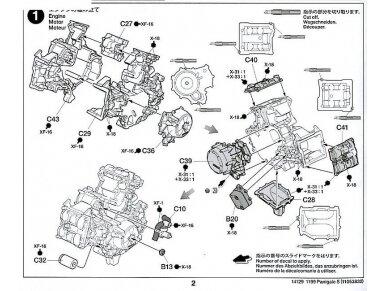 Tamiya - Ducati 1199 Panigale, Scale: 1/12, 14129 23