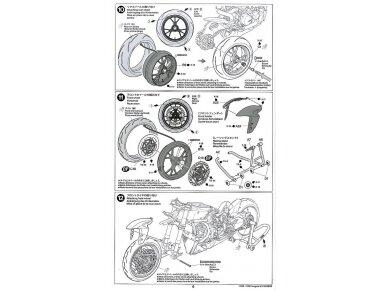 Tamiya - Ducati 1199 Panigale, Scale: 1/12, 14129 27