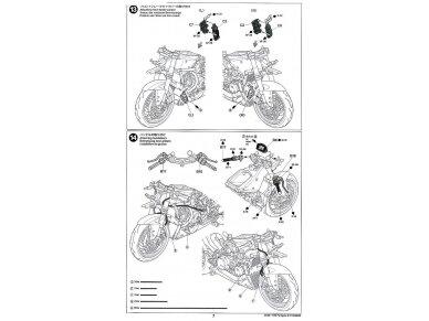 Tamiya - Ducati 1199 Panigale, Scale: 1/12, 14129 28