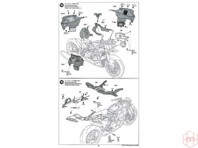 Tamiya - Ducati 1199 Panigale, Scale: 1/12, 14129 29