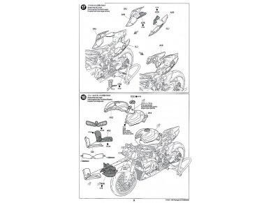Tamiya - Ducati 1199 Panigale, Scale: 1/12, 14129 30