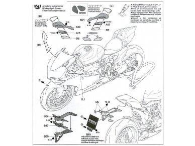 Tamiya - Ducati 1199 Panigale, Scale: 1/12, 14129 32