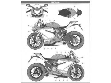Tamiya - Ducati 1199 Panigale S Tricolore, Mastelis: 1/12, 14132 12