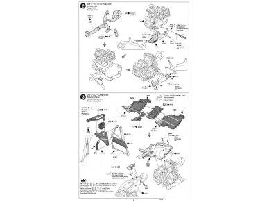 Tamiya - Ducati 1199 Panigale S Tricolore, Mastelis: 1/12, 14132 14