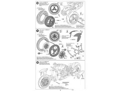 Tamiya - Ducati 1199 Panigale S Tricolore, Mastelis: 1/12, 14132 17