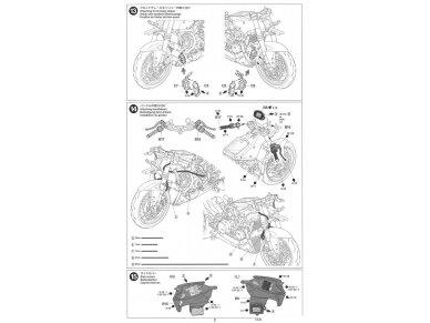 Tamiya - Ducati 1199 Panigale S Tricolore, Mastelis: 1/12, 14132 18