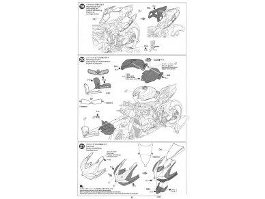 Tamiya - Ducati 1199 Panigale S Tricolore, Mastelis: 1/12, 14132 20