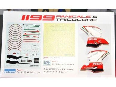 Tamiya - Ducati 1199 Panigale S Tricolore, Mastelis: 1/12, 14132 3