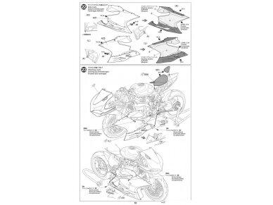 Tamiya - Ducati 1199 Panigale S Tricolore, Mastelis: 1/12, 14132 21