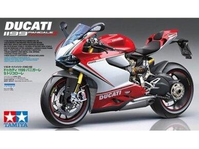 Tamiya - Ducati 1199 Panigale S Tricolore, Mastelis: 1/12, 14132
