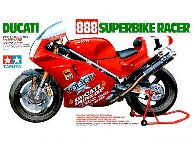 Tamiya - Ducati 888 Superbike Racer, Mastelis: 1/12, 14063
