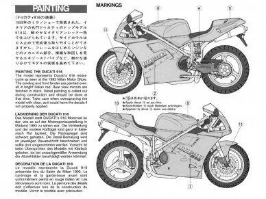 Tamiya - Ducati 916, Mastelis: 1/12, 14068 8