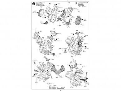Tamiya - Ducati 916, Mastelis: 1/12, 14068 9