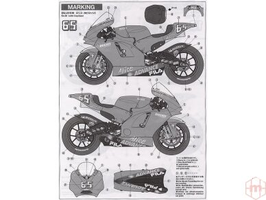Tamiya - Ducati Desmosedici, Scale: 1/12, 14101 11