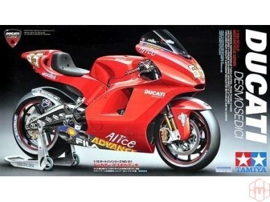 Tamiya - Ducati Desmosedici, Scale: 1/12, 14101
