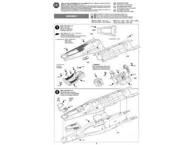 Tamiya - F-16CJ Fighting Falcon, Mastelis: 1/72, 60786 12