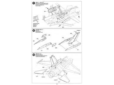 Tamiya - F-16CJ Fighting Falcon, Mastelis: 1/72, 60786 16