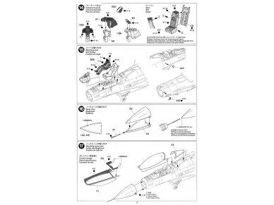 Tamiya - F-16CJ Fighting Falcon, Mastelis: 1/72, 60786 17