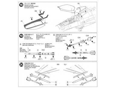 Tamiya - F-16CJ Fighting Falcon, Mastelis: 1/72, 60786 18