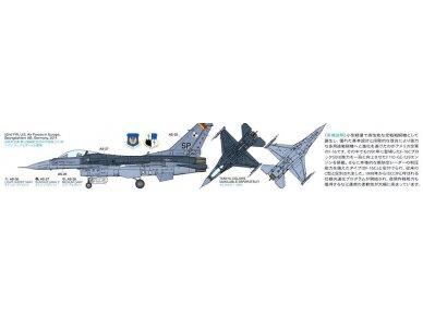 Tamiya - F-16CJ Fighting Falcon, Mastelis: 1/72, 60786 3