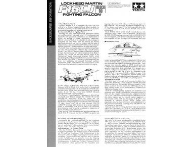 Tamiya - F-16CJ Fighting Falcon, Mastelis: 1/72, 60786 4