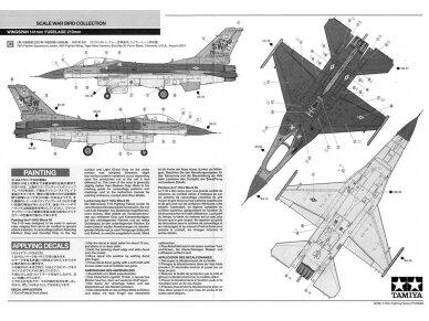 Tamiya - F-16CJ Fighting Falcon, Mastelis: 1/72, 60786 10