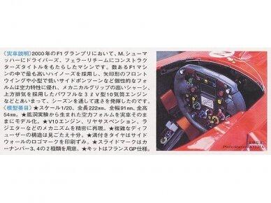 Tamiya - Ferrari F1-2000, Mastelis: 1/20, 20048 3