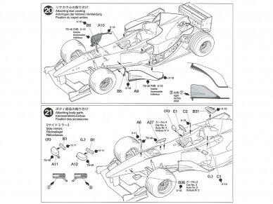 Tamiya - Ferrari F1-2000, Mastelis: 1/20, 20048 15