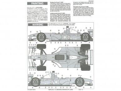 Tamiya - Ferrari F1-2000, Mastelis: 1/20, 20048 6
