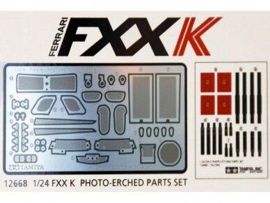 Tamiya - Ferrari FXX K Fotoėsdintos detalės, Mastelis: 1/24, 12668